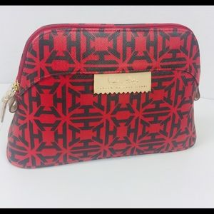 India Hicks Baby Duchess Red Heritage Travel Bag